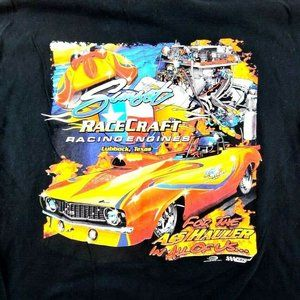 Gildan Racing, Engine Printed Texas T-Shirt Mens L